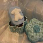 Κουστούμι για αγοράκι.   Πρωτότυπα δωράκια για τη βάπτιση. Μπορείτε να το χρησιμοποιήσετε για δωράκι στη βάπτιση, ή για το σαπούνι που θα χρησιμοποιηθεί στη κολυμπήθρα